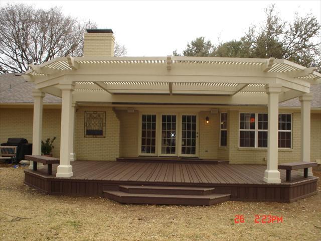 Lone Star Deck U0026 Fence   Trex Decking, Railing, Trim, Porch, Pergola ...
