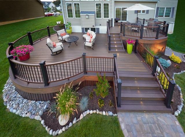 Why Trex on Backyard Trex Deck Ideas id=95834