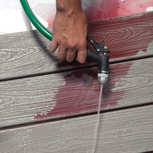 With periodic cleaning, Trex decking will provide long-lasting, great looking decks