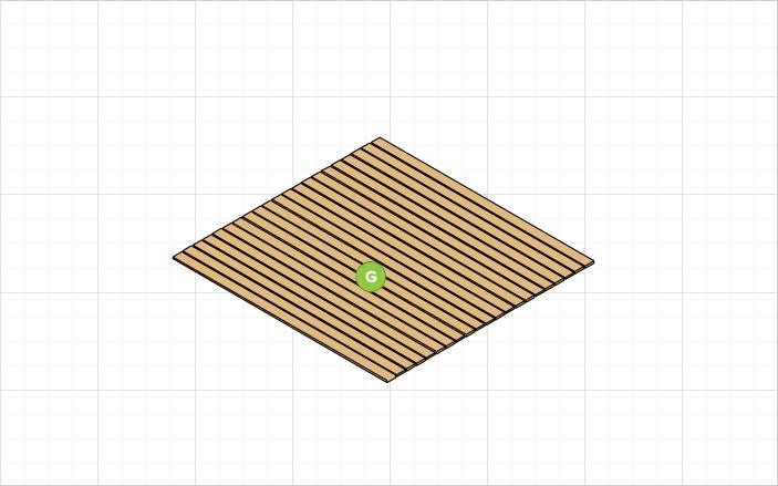 Plan for your deck by ordering a sample of Trex composite decking