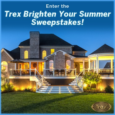 Enter the Trex Brighten Your Summer Sweepstakes