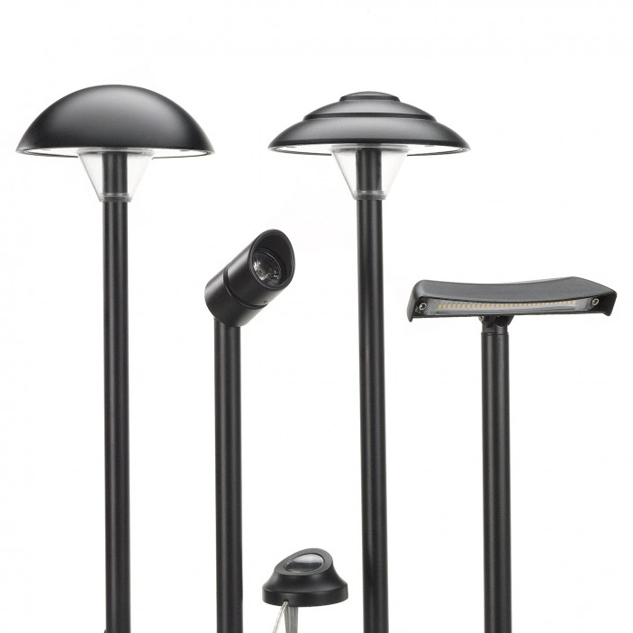 Our Landscape Lighting components are as beautiful as they are functional.