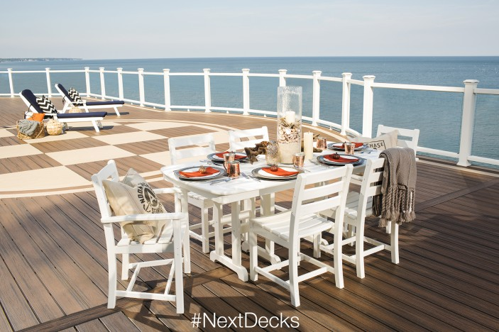 The Trex #NextDecks Pinterest Contest is your chance to win a piece of Trex Outdoor Furniture.