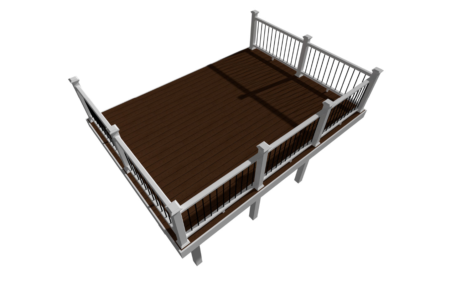 Rectangle Deck Design