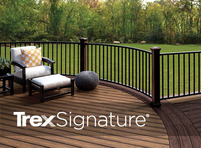 estimate the cost of your new deck and trex signature railing using trexs deck cost calculator