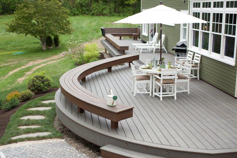 The Trex Blog - Seven Tips For Designing Your Next Trex ... on Backyard Trex Deck Ideas id=74510