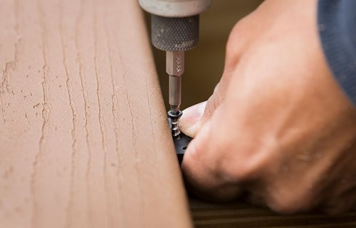 Be realistic about your carpentry skills before attempting to build your own deck.