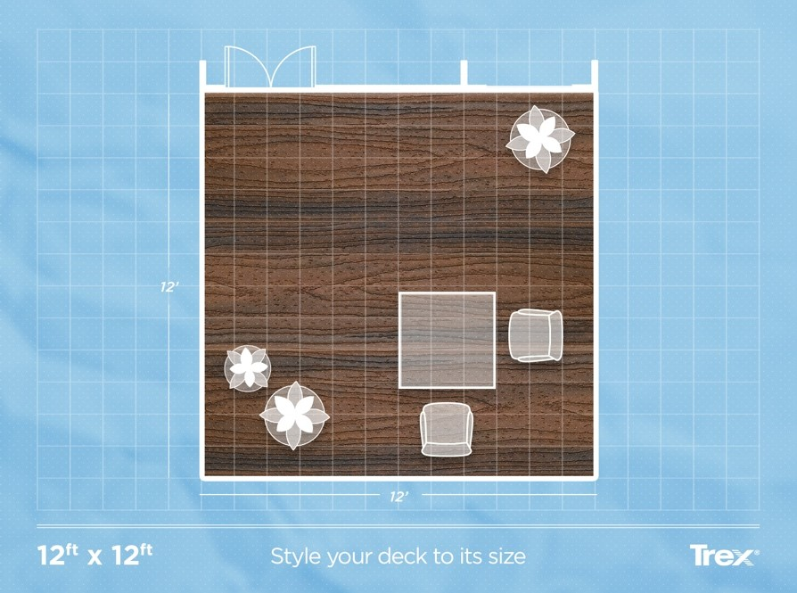 You Ll Want To Plan The Size Of Your Deck Around How Use It Check Out These Por Sizes See What S Right For