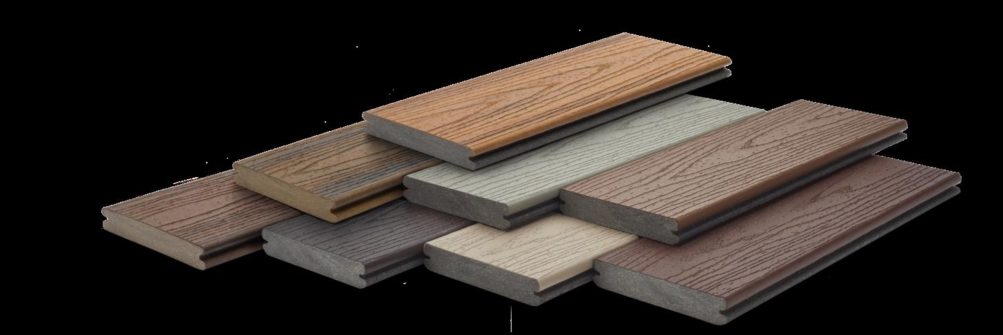 Composite Decking Deck Materials Trex