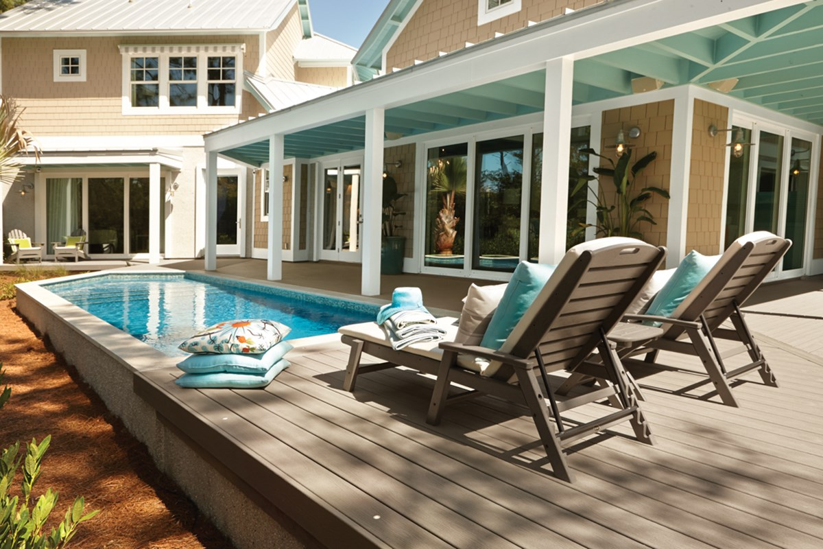 Materials Costs For Building An Above Ground Pool Deck Trex